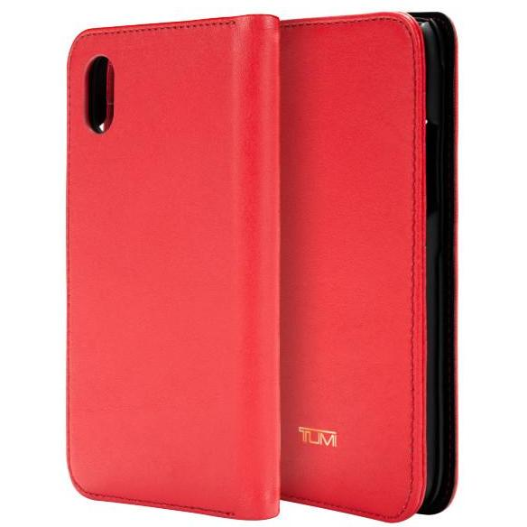 leather wallet case for iphone xr with card slot form tumi red colour for women australia.