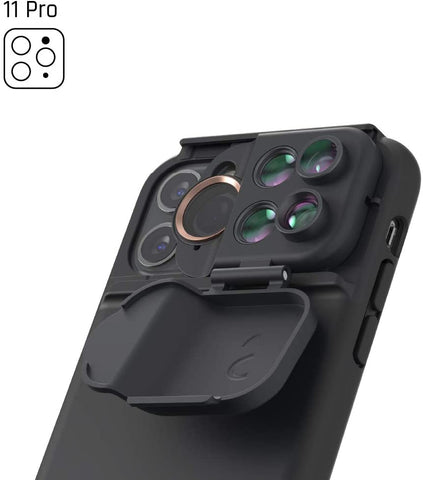 "Place to buy online iPhone 11 Pro (5.8"") 5-in-1 MultiLens Case From SHIFTCAM  - Black with free shipping Australia wide."