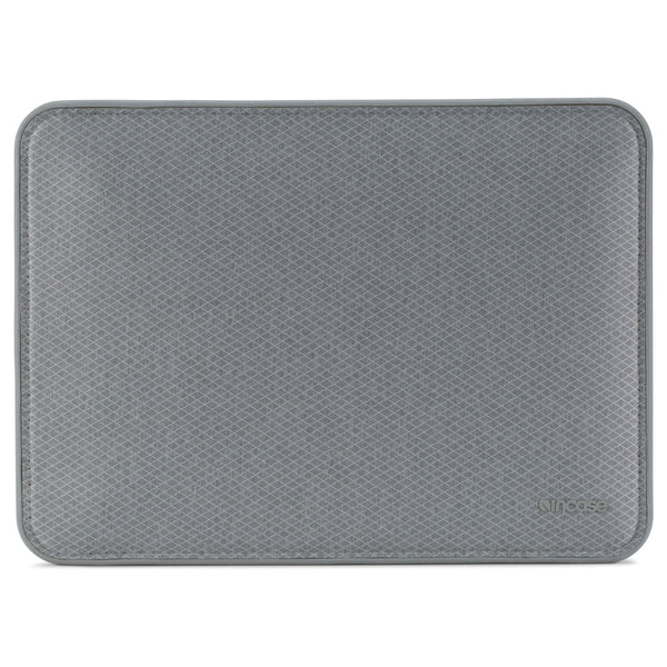 incase icon sleeve with diamond ripstop for macbook pro 13 inch (usb-c) - grey colour