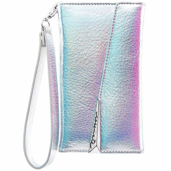 official store to buy fancy and cute  casemate wristlet leather card folio case for iphone x - iridescent. Free shipping express australia.