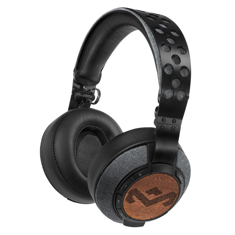 Shop Australia stock HOUSE OF MARLEY LIBERATE XLBT BLUETOOTH WIRELESS OVER  EAR HEADPHONES - MIDNIGHT with ... a66be36b8ef30