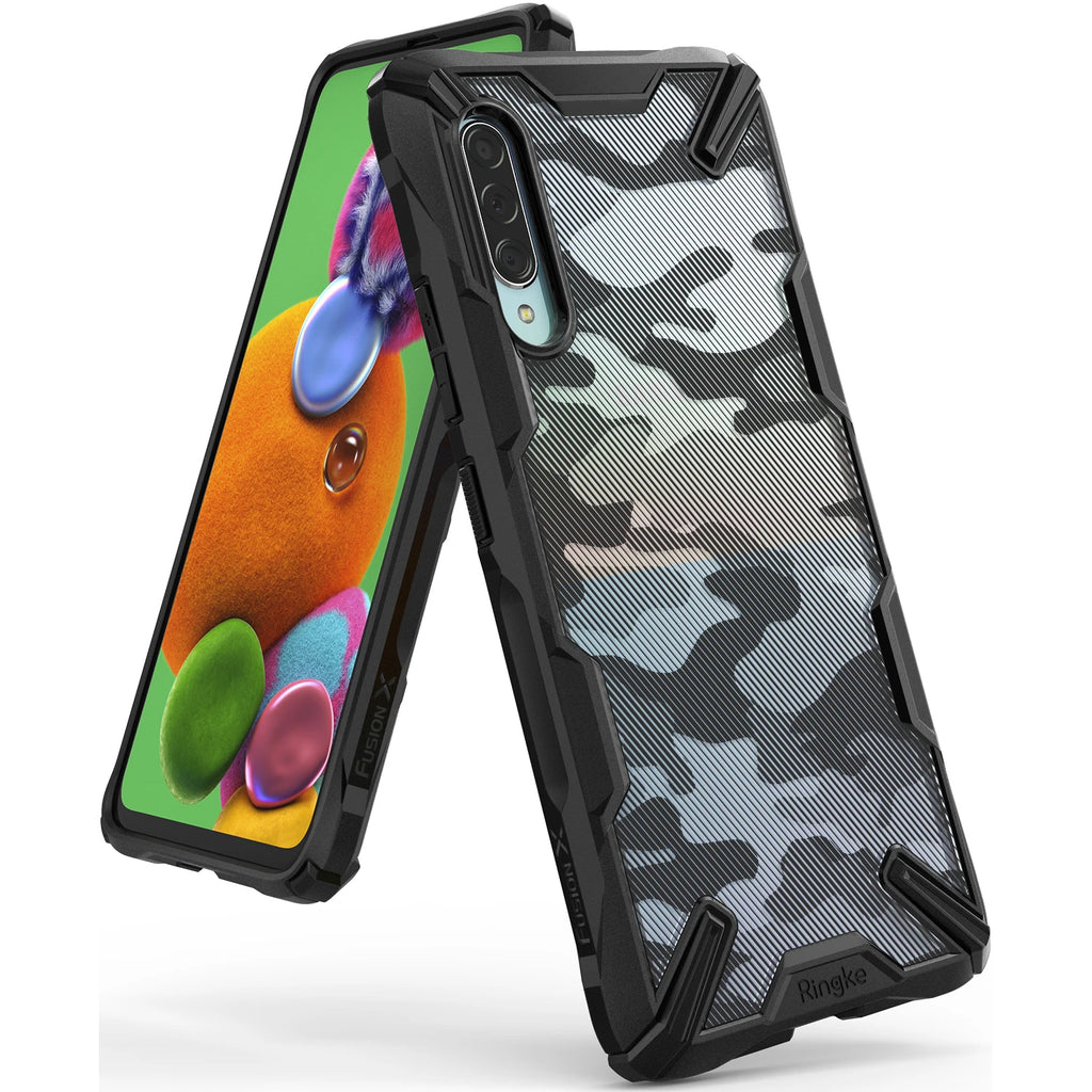 Shop Australia stock Ringke Fusion X Design Rugged Case For Galaxy A90 5G - Camo Black with free shipping online. Shop Ringke collections with afterpay Australia Stock
