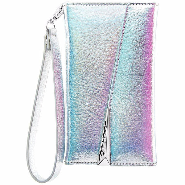 place to buy from trusted online seller casemate wristlet leather card folio case for iphone 8 plus/7 plus - iridescent. Free shipping australia express.