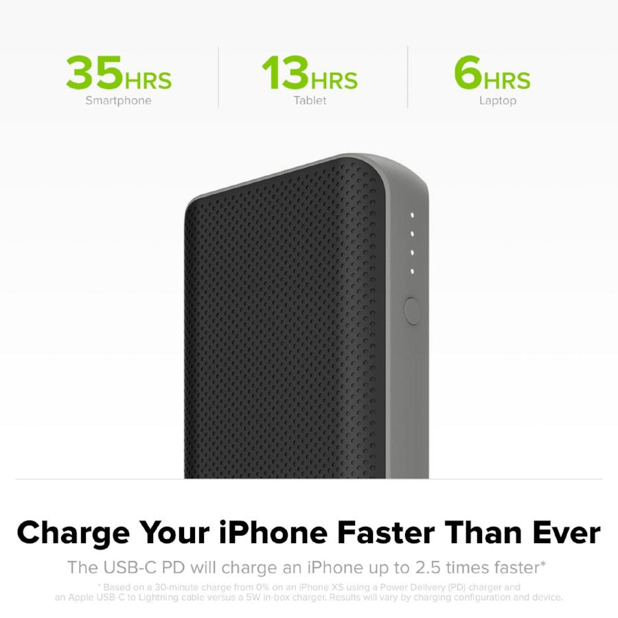 Shop Australia stock MOPHIE POWERSTATION PD 10,050mAH USB-C PORTABLE BATTERY - BLACK with free shipping online. Shop Mophie collections with afterpay Australia Stock