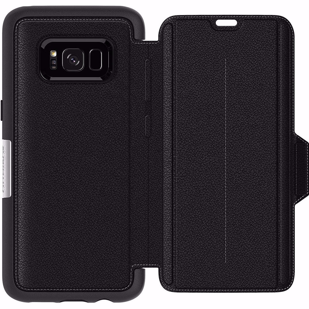 Get your Otterbox Strada Premium Leather Folio Case For Galaxy S8+ (6.2 Inch) - Black from Authorized distributor Syntricate. Free shipping express Australia wide. Australia Stock