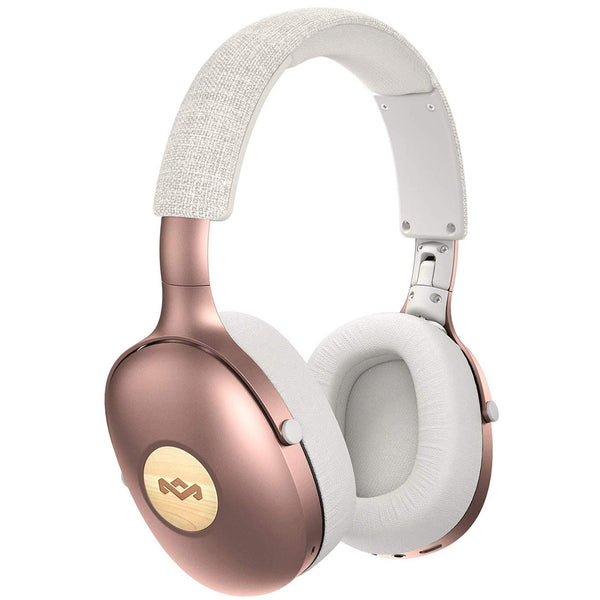 HOUSE OF MARLEY Positive Vibration XL Over-Ear Wireless Bluetooth Headphones- Copper