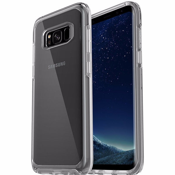 Place to buy transparent tough case online from official store OTTERBOX SYMMETRY CLEAR SLIM CASE FOR GALAXY S8+ (6.2 inch) - CLEAR. Free express shipping australia wide.