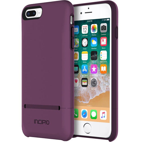 Place to buy extra storage wallet cute sweet cool case from Incipio Stashback Dockable Credit Card Case For Iphone 8 Plus/ 7 Plus - Plum. Free express shipping Australia wide from authorized distributor and trusted online store Syntricate.\