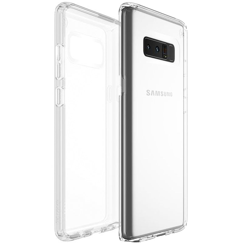 buy speck presidio impactium clear scratch-resistant case for galaxy note 8 clear australia Australia Stock