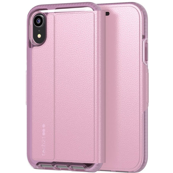 buy online pink folio case for iphone xr with free shipping australia wide