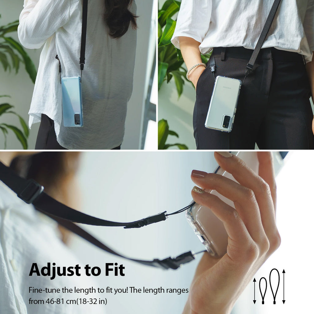 Shop Australia stock RINGKE Shoulder Strap For Phone Cases /Camera - Black with free shipping online. Shop Ringke collections with afterpay Australia Stock