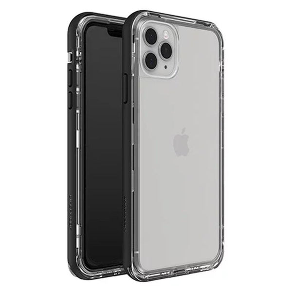 iphone 11 pro max clea lifeproof case with black bumper, australia stock free shipping & Zippay