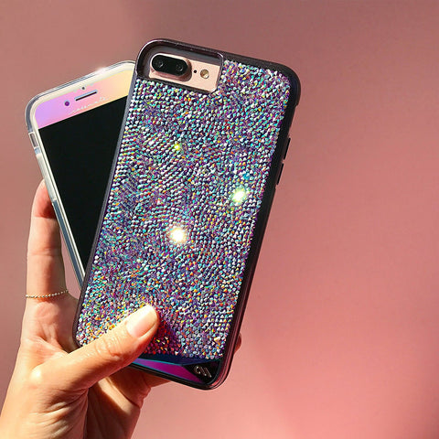 CASEMATE BRILLIANCE TOUGH GENUINE CRYSTAL CASE FOR iPHONE 8 PLUS/7 PLUS -IRIDESCENT