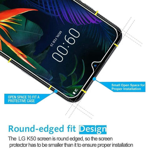 buy online lg k50 screen protector tempered glass  with afterpay payment