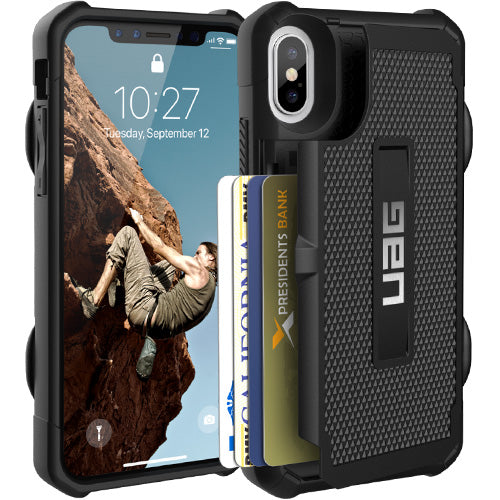 online store to buy Uag Trooper Rugged Card Case For Iphone Xs & iPhone X - Black free shipping australia