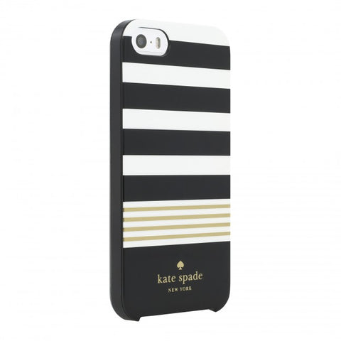 Australia stock Kate Spade New York Hardshell Case For Iphone SE/5S - Stripe 2 series from designer series collection