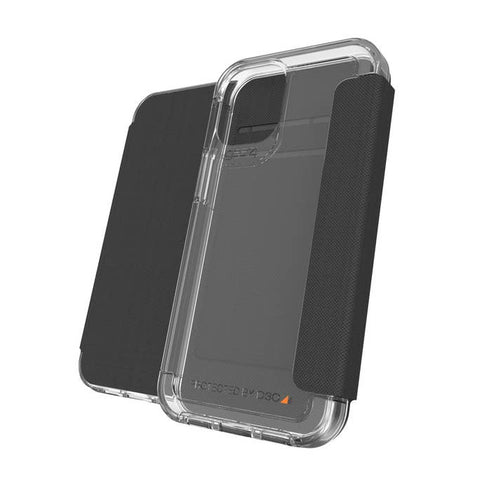 "Place to buy online iPhone 12 Pro/12 (6.1"") Wembley Flip D30 Rugged Card Folio Case From GEAR4 - Clear with free shipping Australia wide."