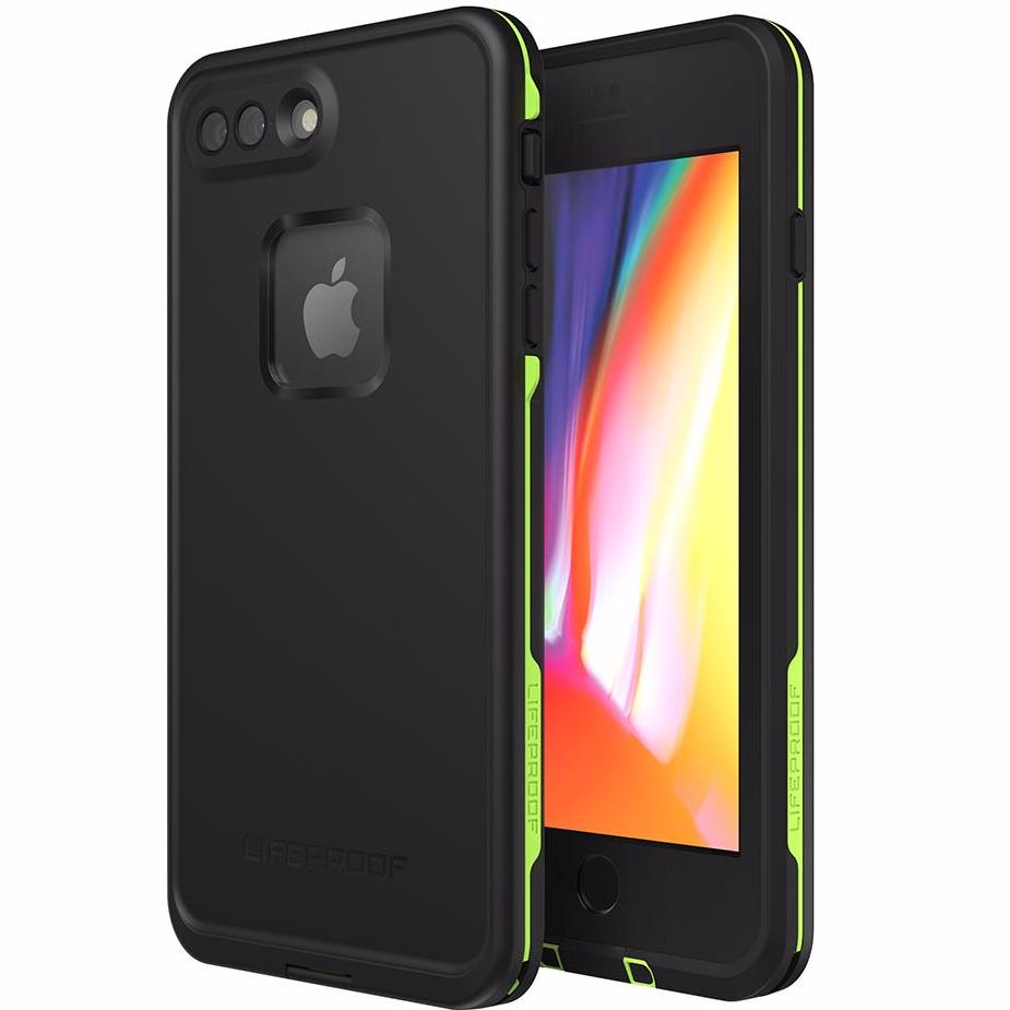 best sneakers 13649 2a9c6 LIFEPROOF FRE 360° WATERPROOF CASE FOR IPHONE 8 PLUS/7 PLUS - BLACK/LIME