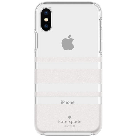 stylish stype white clear case for iPhone Xs & iPhone X