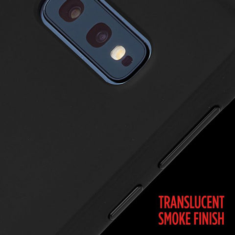 smoke black finish for new SAMSUNG GALAXY S10e. premium drop protection case from casemate