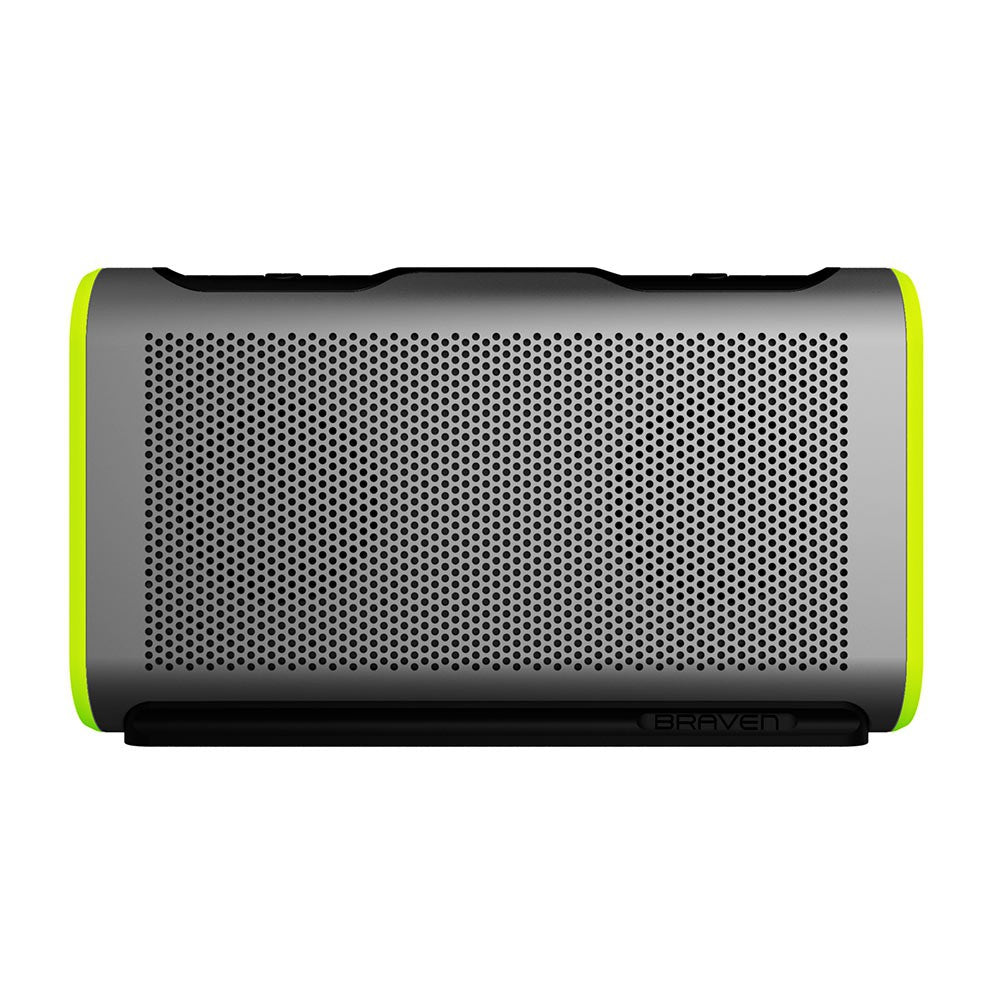 Buy new Australia stock Braven Stryde Portable Bluetooth Waterproof Speaker Silver green Australia Stock