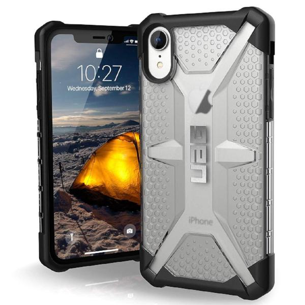 wireless charging compatible case for iphone xr from uag australia. clear and drop proof technology. buy only at syntricate with afterpay payment