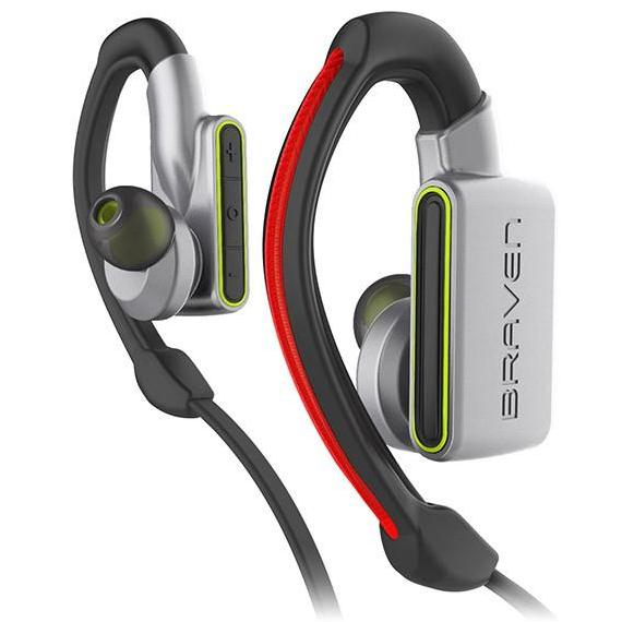 official store to buy online cool headset braven flye sport power bluetooth earbuds - silver/green. Free express shipping australia wide. Australia Stock