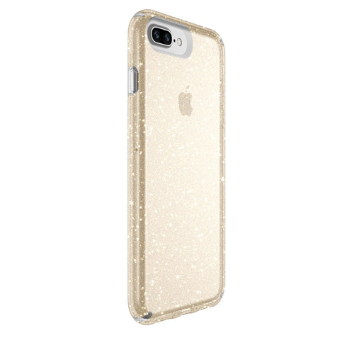 where to find Speck Presidio Clear Glitter IMPACTIUM Case for iPhone 8 Plus/7 Plus - Gold Glitter colour