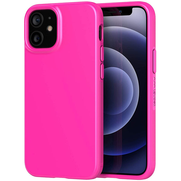 cute case silicone girly case pink colour with plant based material from tech21