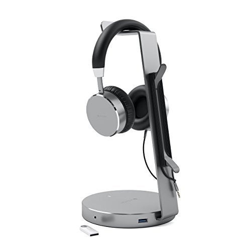 Shop Australia stock SATECHI ALUMINIUM USB HEADPHONE STAND HOLDER USB 3.0 PORTS HUB - SPACE GREY with free shipping online. Shop SATECHI collections with afterpay Australia Stock