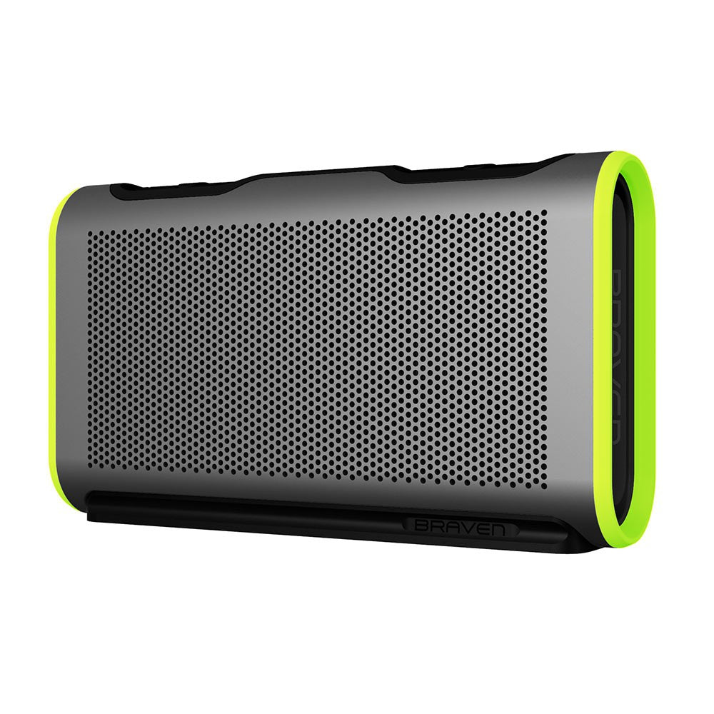 Buy Australia stock Braven Stryde Portable Bluetooth Waterproof Speaker Silver green Australia Stock