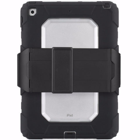 GRIFFIN SURVIVOR ALL-TERRAIN RUGGED CASE FOR IPAD 9.7 (2017) 5TH GEN  - BLACK/CLEAR