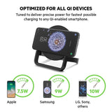 BELKIN QI BOOST UP WIRELESS 10W CHARGING STAND FOR IPHONE/SAMSUNG/LG/SONY - BLACK