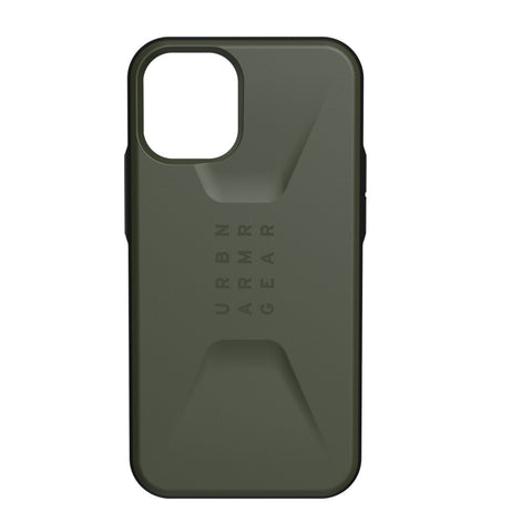 "Shop off your new iPhone 12 Mini (5.4"") UAG Civilian Sleek Ultra Slim Rugged Case - Olive Drab with free shipping Australia wide."
