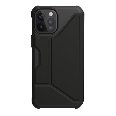 "Get the latest iPhone 12 Pro Max (6.7"") Metropolis Card Folio Case From UAG - Textured PU Online local Australia stock."