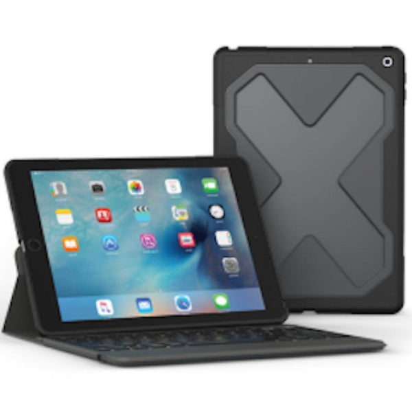 Place to buy online from trusted seller zagg rugged messenger folio backlit keyboard case for ipad 9.7 (5th gen) (2017) black. Authorized distributor free shipping Australia wide.