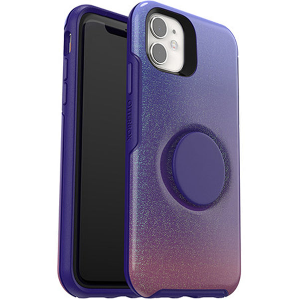glitter galaxy case for iphone 11. case with socket from otterbox. buy online local stock with free shipping australia wide