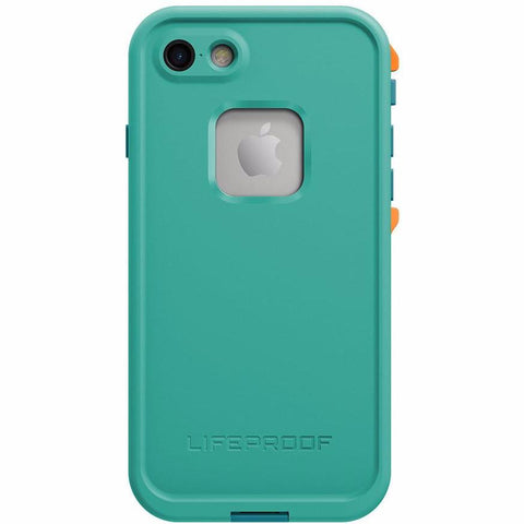 Free express shipping Australia wide Authentic Lifeproof Fre Built-in Scratch Protector Waterproof Case for iPhone 7 Teal Green.