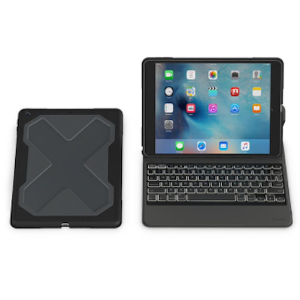 Shop Australia stock ZAGG RUGGED MESSENGER FOLIO BACKLIT KEYBOARD CASE FOR iPAD 9.7 (6TH/5TH GEN)- BLACK with free shipping online. Shop Zagg collections with afterpay Australia Stock