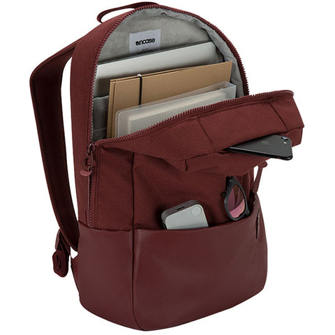 store online to buy incase compass backpack bag for macbook upto 15 inch deep red color australia