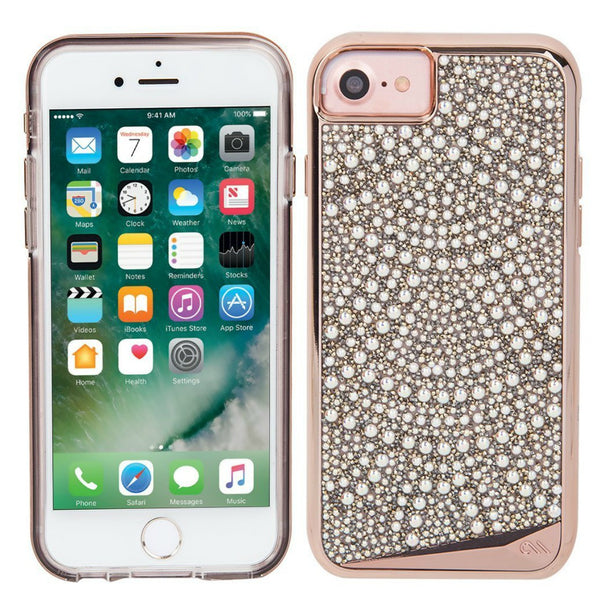 buy the authentic casemate brilliance tough genuine crystal case for iphone 8/7/6s lace from authorized distributor australia