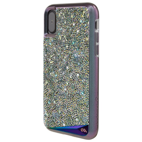 CASEMATE BRILLIANCE TOUGH GENUINE CRYSTAL CASE FOR iPHONE X - IRIDESCENT
