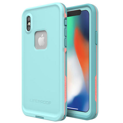 buy lifeproof fre case for iPhone X Australia cyan Tile colour