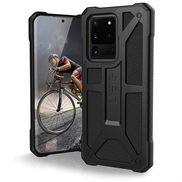 "Shop Australia stock UAG Monarch Handcrafted Rugged Case For Galaxy S20 Ultra 5G (6.9"") - Black with free shipping online. Shop UAG collections with afterpay"