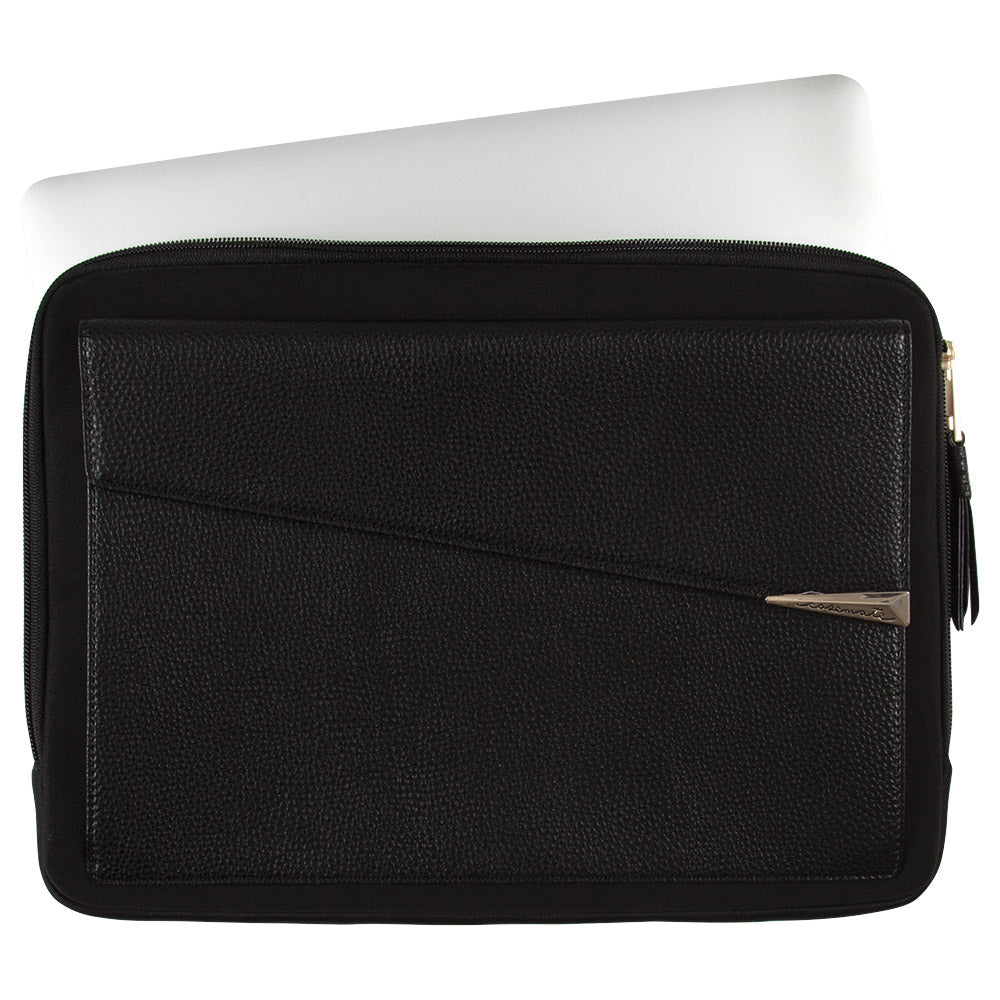 Casemate Edition Folio Laptop/Macbook Sleeve For Up To 15 Inch Devices Black Colour Australia Syntricate Australia Stock