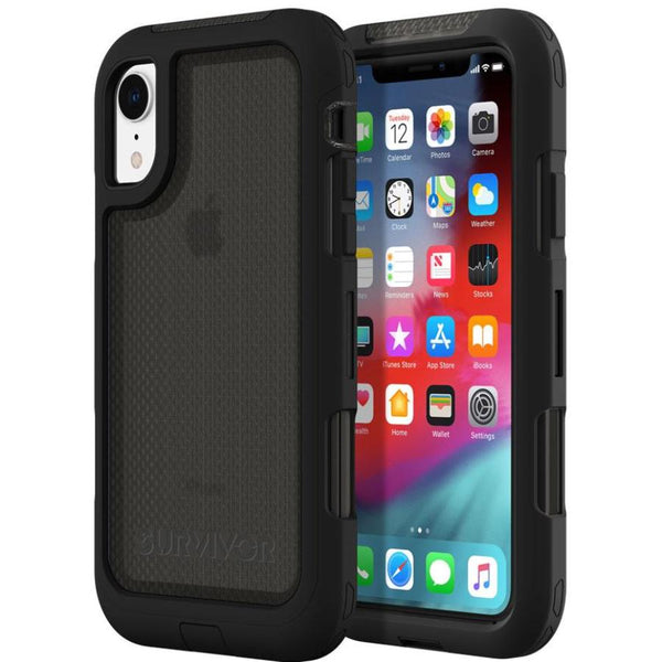 iphone xr case with wireless charge comaptible from griffin