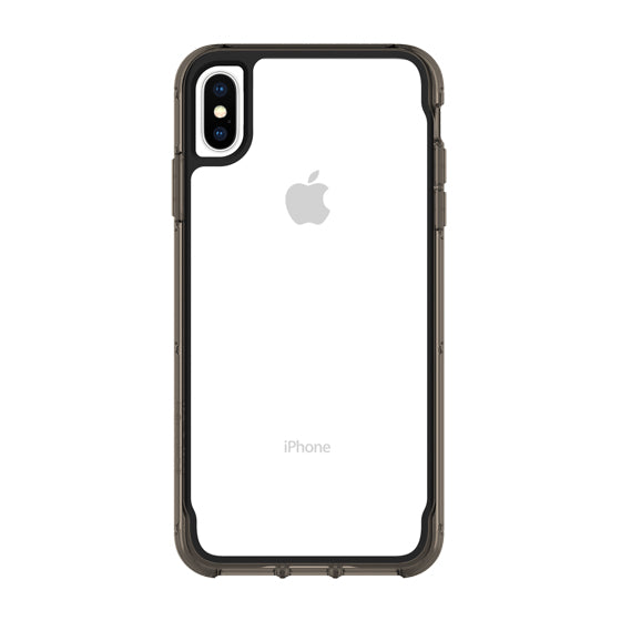 show your new iPhone Xs & iPhone X Back with this black bumper & clear case from Griffin Australia Australia Stock