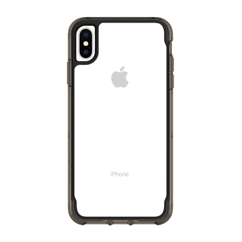 show your new iPhone Xs & iPhone X Back with this black bumper & clear case from Griffin Australia
