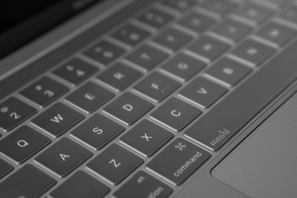 Moshi ClearGuard keyboard protector for MacBook Pro 13
