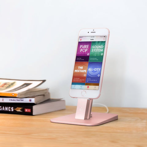 Twelve South HiRise Deluxe for iPhone & iPad- Rose Gold